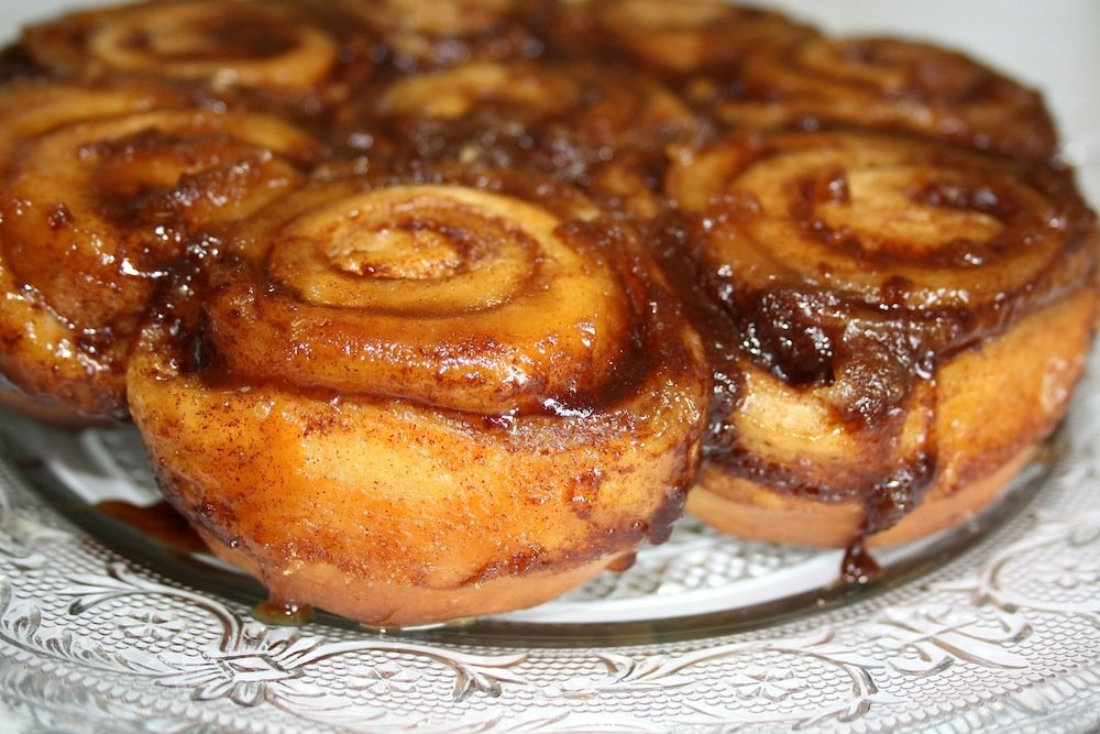 Cinnamon Caramel Sticky Buns made from Allergy Mom's Recipe Book