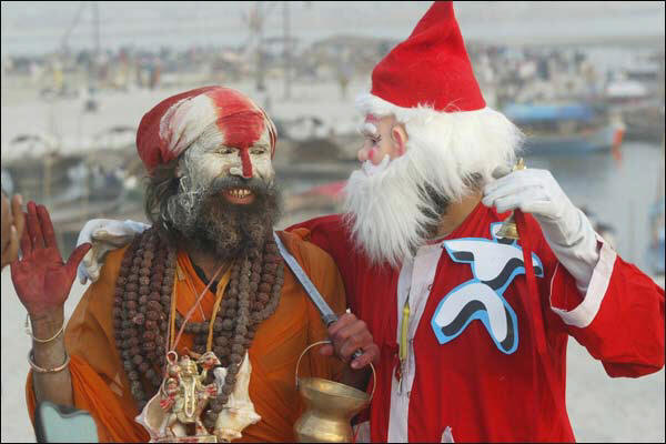 hindus having christmas