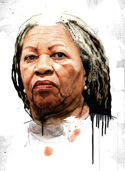 the portrait of a victim in the novel the bluest eye by toni morrison The bluest eye is a novel written by toni morrison in 1970 morrison, a single  mother of two  scott claims that pecola, is the victim of a power that values  and classifies bodies according to norms established and disseminated by visual .